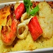 Seafood Creamy Cheese Baked Rice