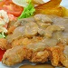 Hainanese Chicken Chop with Garlic Mushroom Sauce