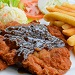 Hainanese Chicken Chop with Black Pepper Sauce