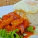 Sweet Sour Fish Fillet with Rice & Fried Egg